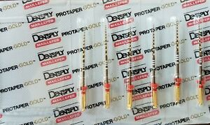 Protaper Gold Rotary Files 31 Mm F2 Dentsply Endodontics Endo