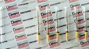 Protaper Gold Rotary Files 31 Mm F5 Dentsply Endodontics Endo