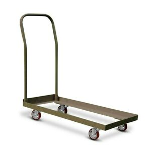 Heavy Duty Chair Cart Storage Dolly Transport For Folding Stackable Chairs