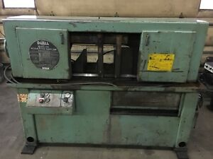 Doall Model C 8 Metal Cutting Band Saw With A 12 X 12 Cut Plus 3 Blades