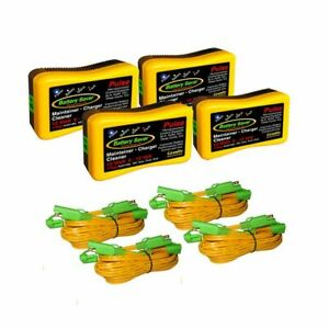 Battery Saver Battery Charger Maintainer 4 Packs 6 12 Volt 12 Watt 6259