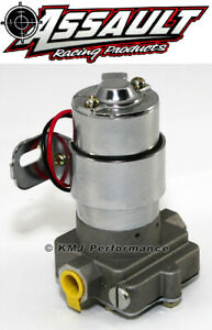 High Flow Performance Electric Fuel Pump 130gph Universal Fit 3 8 Npt Ports