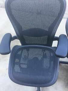 Herman Miller Fully Loaded Size B Aeron Chair