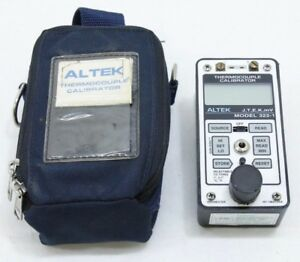 Altek Multiple Thermocouple Calibrator Model 322 1 J T E K Mv Free Ship