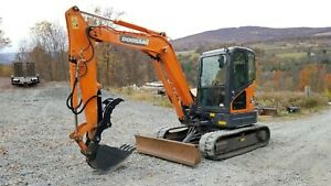 2012 John Deere 27d Excavator Hydraulic Thumb Ready To Work In Pa