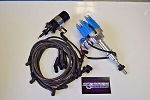 Sbf Ford 289 302 5 0 Small Head Hei Distributor Ready To Run Moroso Wires Coil