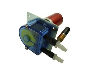Peristaltic Brushless Planetary Food And Beverage Tubing Pump Dc 40ml min Pm216f