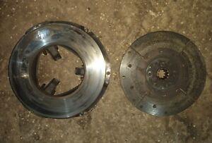 Allis Chalmers Wd45 Tractor Clutch Disc An Pressure Plate Set Ac Wd