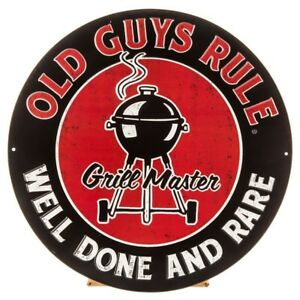 Old Guys Rule Grill Master Vintage Style Metal Signs Man Cave Garage Decor 69