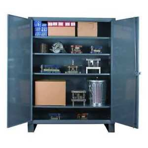 Storage Cabinet Welded Steel Durham Hdc 183678 4s95