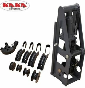 Hb 8 Heavy duty 8 t Hydraulic Roll Cage Tube Bender Metal Tube Bender W 5 Dies