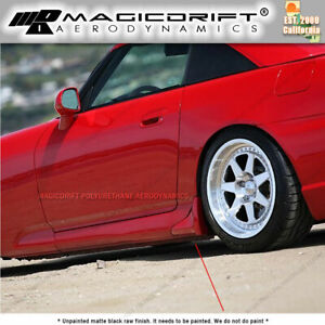 For 2000 2009 Honda S2000 S2k Ap1 Ap2 Oe Style Side Skirts Sill Strakes Corners