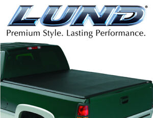 Lund 95061 Genesis Tri Fold Tonneau Bed Cover For 2001 2004 Nissan Frontier 5 5