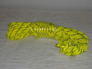Double Braid Polyester 1 2 x 50 Feet Arborist Rigging Tree Rope Roofer Safety