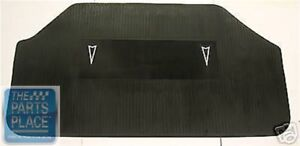 1964 72 Pontiac Gto Lemans Tempest Accessory Rubber Factory Style Trunk Mat