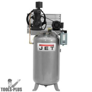 Jet 506803 7 5hp 230v 1ph 80 Gallon Vertical Air Compressor New