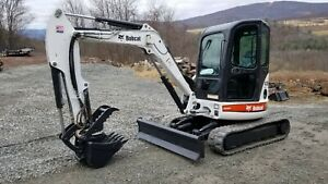 Kubota L48 Tractor Loader Backhoe 1441 Hours 4x4 Hst Nice Ready 2 Work In Pa