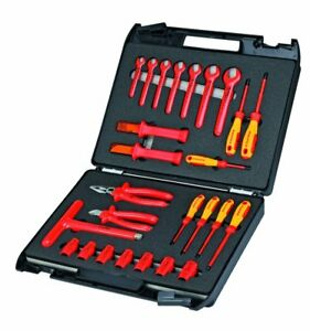Knipex 98 99 12 Insulated Standard Tool Set 26 Piece
