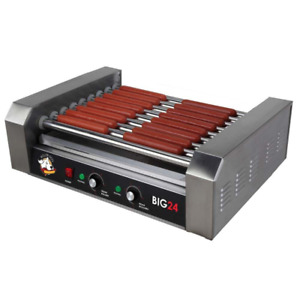 Commercial Hot Dog Roller Sausage Cooker Indoor Bbq Grill Restaurant Barbecue