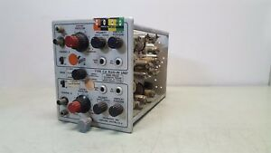 Tektronix Type ca Plug In Unit