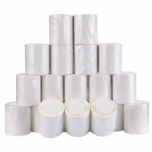 190 12 Rolls 4 X 6 Direct Thermal Shipping 3000 Labels Barcode Desktop White