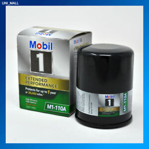 Mobil 1 Genuine New M1 110a Extended Performance Oil Filter 2 Free Gloves