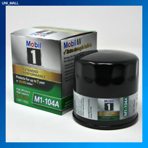 Mobil 1 Genuine New M1 104a Extended Performance Oil Filter 2 Free Gloves