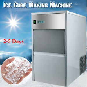 usa commercial Undercounter 55lbs Ice Machine Maker 110v Safty Box Cool Summer