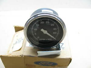 Oem Ford E7hz 17360 D 4500rpm Tachometer Gauge 1987 Up Gas Engine Heavy Truck