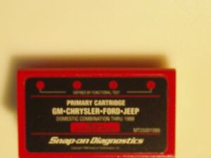 New Snap On Diagnostic Combination Thru 1999 Part Number Mt25001099