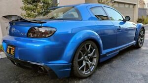 Mazda Rx 8 Ducktail Look Rear Boot Spoiler Wing For Drift Race Jdm