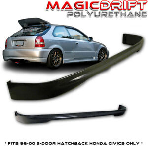 Brand New Honda Civic Ek Hatch Hatchback Flexible Type R Jdm Rear Lip Urethane