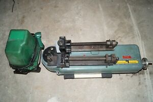 Factory Refurbished Parker Hb 632 Hydraulic Tubing Bender With Greenlee Pump