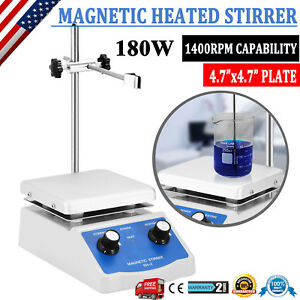 Dual Control Sh 2 Magnetic Stirrer Hot Plate Digital Display 180w Heating Plate