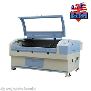 Us Stock 63 X 40 1610 2 Heads Laser Engraving And Cutting System Servo Motor