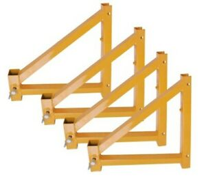 Pro series Osha Approved Set Of 4 Outriggers With Locking Pins For 6 12 Or 18
