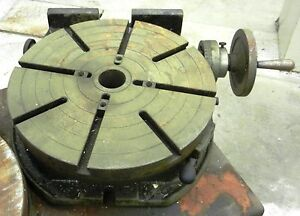 Troyke Rotary Table 15 Model U 15 Wvs