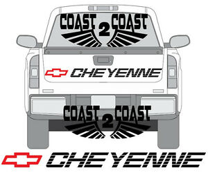 Chevy Cheyenne Tailgate Decal