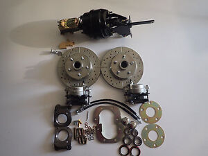 1967 1971 Ford Fairlane Torino Ranchero Power Front Disc Brake Conversion Kit