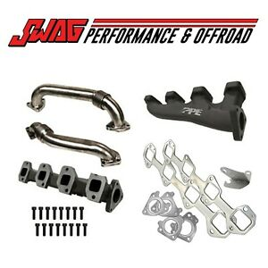 Ppe Race High Flow Exhaust Manifolds With Up pipes Chevy Gmc 2001 04 116111000