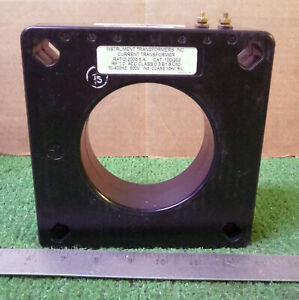 1 New Instrument Transformers 100 202 Current Transformer make Offer