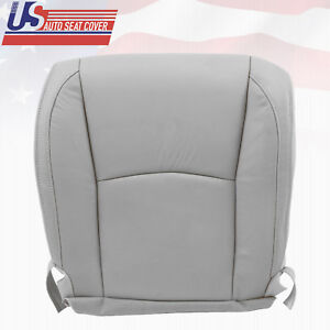 Fits 2004 2005 Lexus Rx330 Driver Bottom Replacement Leather Seat Cover Gray