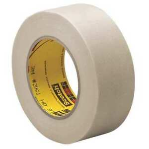 3m 361 Cloth Tape 1 2 In X 60 Yd 6 4 Mil white