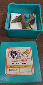 Grizzly Carbide Tipped Shaper Cutter Model G1562 3 4 Bore