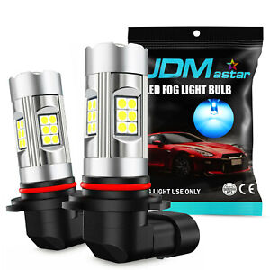 2x Jdm Astar 30w 3200lm 9006 hb4 Led Bulbs Fog Driving Light Lamp 8000k Ice Blue
