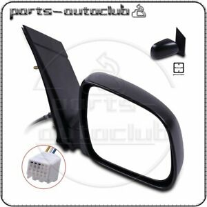 Power Passenger Side View Rear Mirror For 04 10 Toyota Sienna Manual Fold