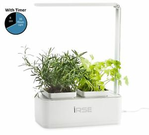 Irse Indoor Garden Kit Hydroponics Led Growing System 2 Self Watering