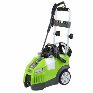 Greenworks 1950 Psi 13 Amp 1 2 Gpm Pressure Washer With Hose Reel Gpw1950