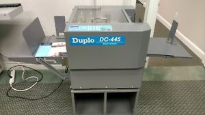 Duplo Dc 445 Automatic Creasing Machine Horizon Morgana Graphic Whizard