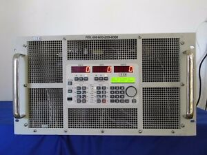 Tdi Dynaload Rbl488 600 200 6000 Dc Electronic Load 600v 200a 6000w Tested